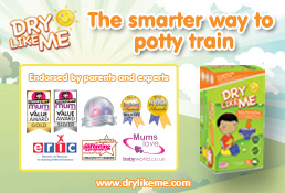 Dry Like Me - the smarter way to potty train.
