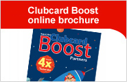 NEW! Clubcard Boost online brochure