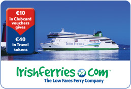 Fantastic Clubcard Deals: Irish Ferries