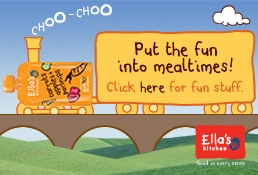 Ella's Kitchen - put the fun into mealtimes, click here for fun stuff