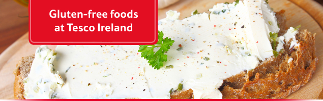 Gluten-free foods at Tesco Ireland
