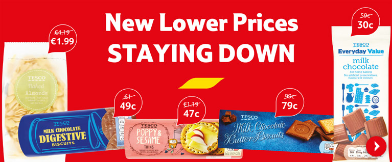 Prices down and staying down